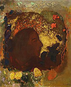 Redon,Odilon 「Paul Gauguin 」(1903) Musee dOrsay