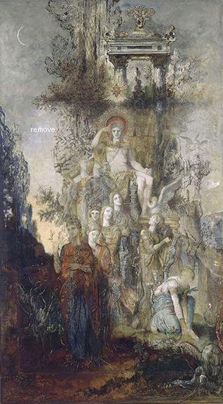 Muses quittent Apollon, leur père, pour aller éclairer le monde