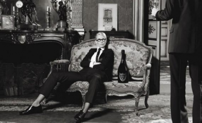Karl Lagerfeld X Dom Pérignon ? Visions and A Decision | Photography Campaign