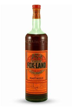 Fox-Land Jamaica Rum circa 1930