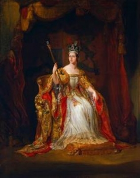 Queen Victoria by Sir George Hayter