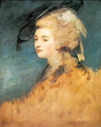 Reynolds-Portrait of Georgiana Spencer, Duchess of Devonshire 1780‐81