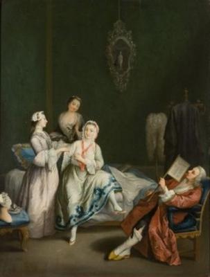 Charles-Joseph Flipart Il Risveglio della Dama 1747-1748