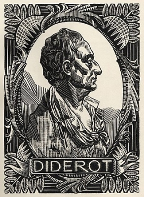 Denis Diderot  by Clement Serveau.