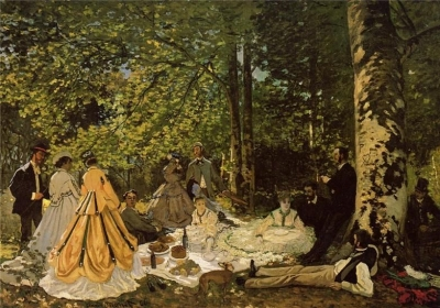 Luncheon on the Grass 1866-The Pushkin Museum of Fine Arts