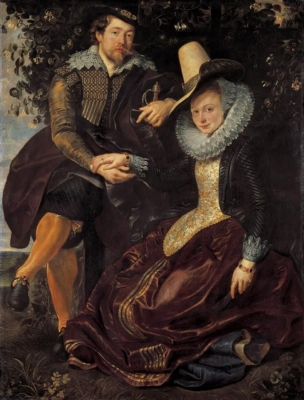 Rubens and Isabella Brant in the Honeysuckle Bower (C. 1609)