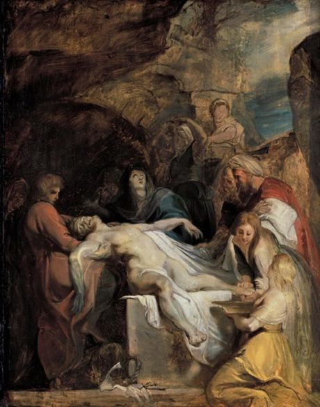 The Entombment of Christ (Ca. 1616)