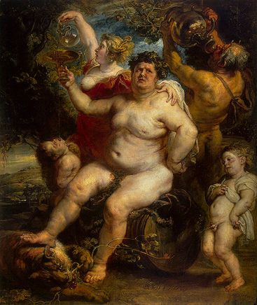 Bacchus ,   Between 1638 -1640 Hermitage Museum