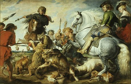 Wolf and Fox Hunt, ca. 1615?21, Peter Paul Rubens and Workshop