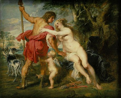 Venus and Adonis Peter Paul Rubens