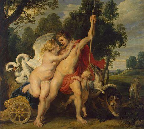 Venus and Adonis 1614 Hermitage Museum