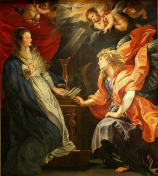 Peter Paul RUBENS, The Annunciation, 1610