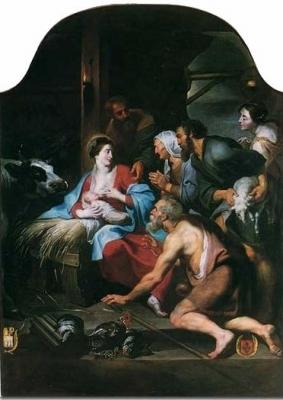 Pierre Paul Rubens. Adoration des bergers