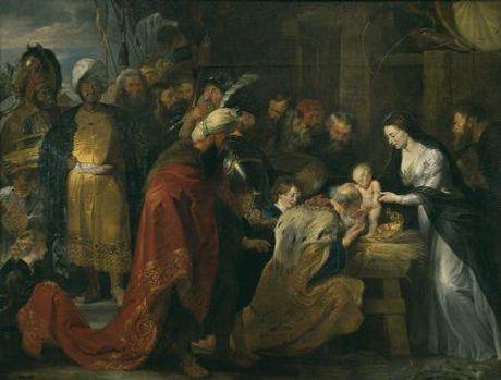 LAdoration des mages Musée des Beaux-Arts de Lyon