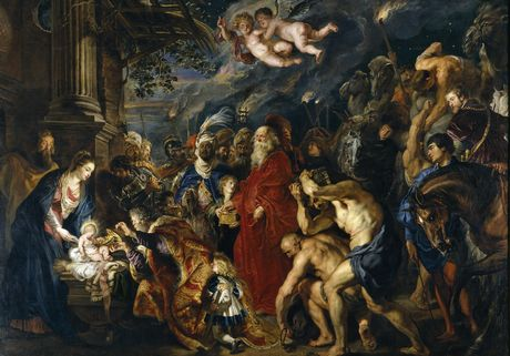Rubens, Peter Paul Adoration of the Magi 1609-1628 Museo Nacional del Prado