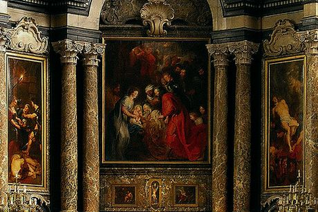 The Sint-Janskerk (Church of St. John the Evangelist) is home to Rubens The Adoration of the Magi