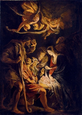 Adoration of the Shepherds ,   1608