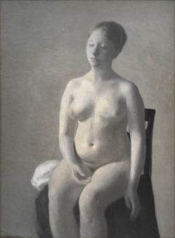 Seated Female Nude, 1889 Statens Museum for Kunst. Copenhagen. Denmark.