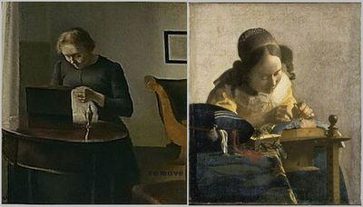 Hammershøi and Vermeer