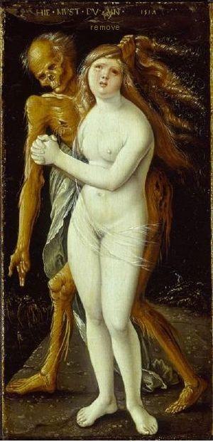 Der Tod und das Mädchen, 1517