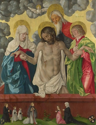 The Trinity and Mystic Pietà 1512