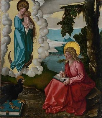 Saint John on Patmos Hans Baldung
