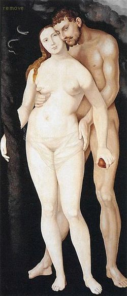 Hans Baldung - Adam and Eve
