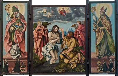 Hans Baldung, genannt Grien: Altar des Hl. Johannes des Täufers