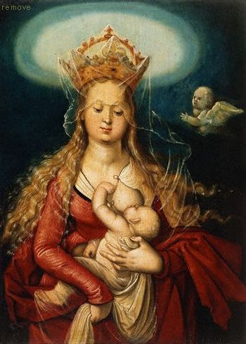 The Virgin as Queen of Heaven