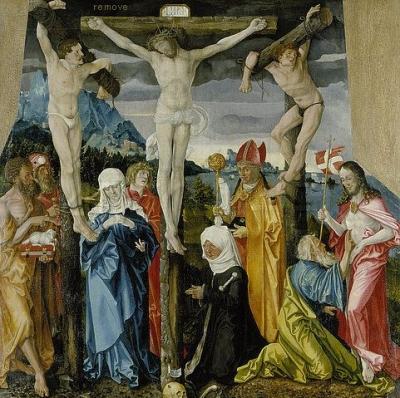 Kreuzigung Christi. 1512.Basel, Kunstmuseum