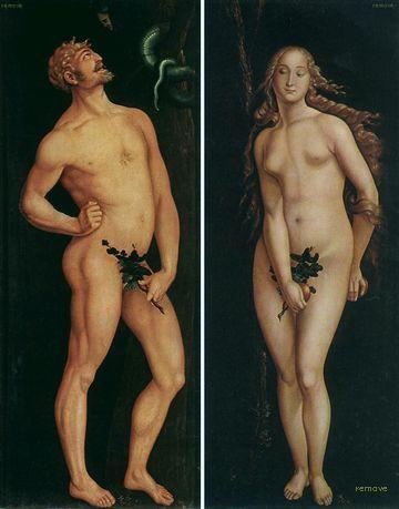 Hans Baldung Grien adam Eve 1524