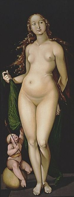 Venus en Amor Hans Baldung Grien Kröller Müller Museum