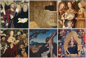 (C) blog.oricon.co.jp renaissanc Altar by Lucas Cranach der Altere