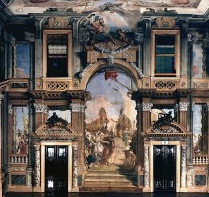 Palazzo Labia Giovan Battista Tiepolo Photo by Gino Gabrieli