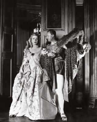 Lady Diana Cooper and Baron de Cabrol
