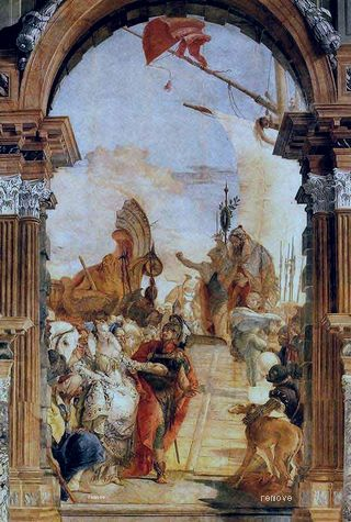 Tiepolo Palazzo Labia The Meeting of Anthony