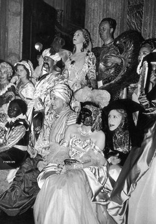 Le Bal oriental, at the Palazzo Labia  1951