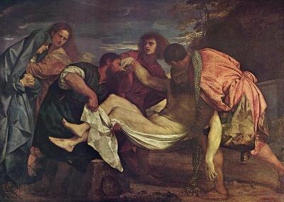 Il Seppellimento di Cristo Tiziano Vecellio