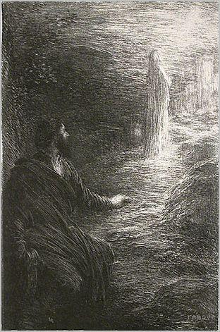 Henri de Fantin-Latour. Tannhauser: Act III