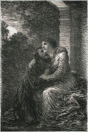 Henri de Fantin-Latour. Lohengrin: Act III