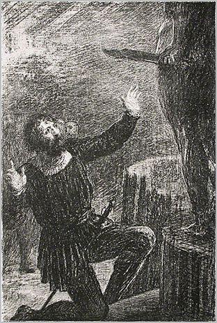 Henri de Fantin-Latour. Benvenuto Cellini: Act III La Fonte du Persee