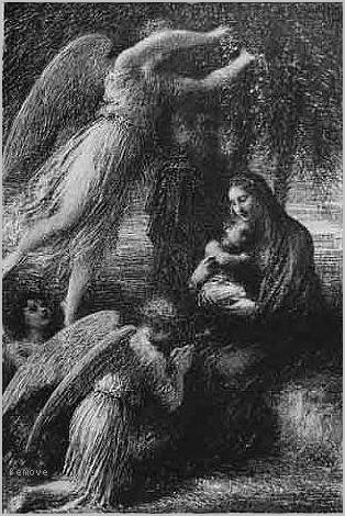 Lenfance du Christ (Le Repos de la Sainte Famille)