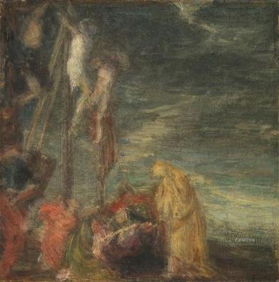 LE CHRIST ENTRE LES LARRONS FANTIN-LATOUR Henri ; CALIARI Paolo (daprès) ; VERONESE musée d'Orsay