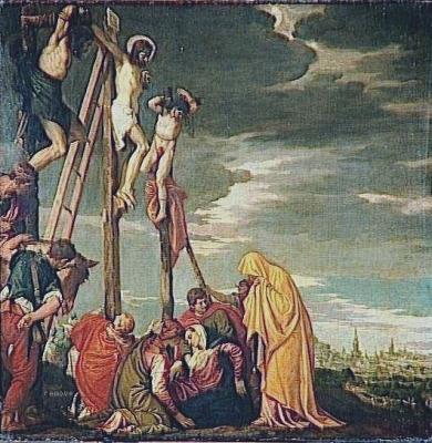 Le Calvaire Véronèse Caliari Paolo musée du Louvre