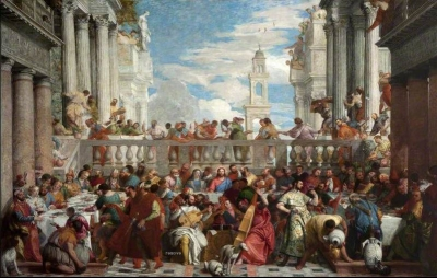 The Wedding Feast at Cana (after Paolo Veronese) 1867by Henri Fantin-Latour National Museums Northern Ireland
