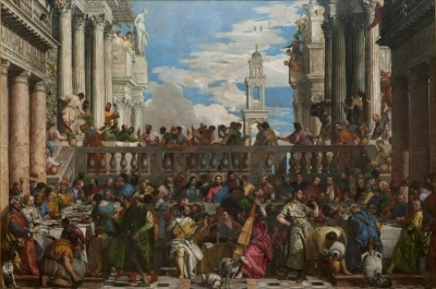Louvre Museum: The Wedding Feast of Cana, Paolo Veronese