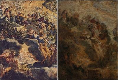FANTIN-LATOUR Henri Fragment daprès Tintoret : Le Paradis