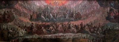 Esquisse pour le Paradis (pour le décor de la salle du Grand Conseil du palais ducal de Venise), Palais des Beaux-Arts de Lille
