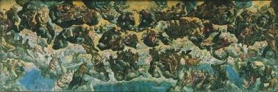Jacopo Tintoretto (1518-1594) Le Paradis Musée Thyssen-Bornemisza