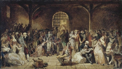 The Call for the Last Victims of the Terror, 7-9 Thermidor, Year 2, circa 1850 by Charles Louis Lucien Muller